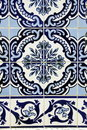 Azulejo in porto wall tile the city of portugal Stock Image