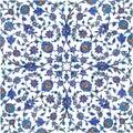 Azulejos del otomano Imágenes de archivo libres de regalías