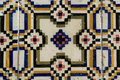 Azulejos portuguese tiles detail of some Stock Photography