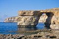 Azure Window, Gozo, Malta Stock Photos