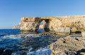 Azure window gozo malta the in dwejra Stock Photography