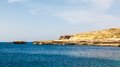 Azure window stone arch of gozo malta famous island in the sun in summer Stock Image