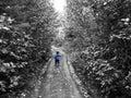 Azzurro di Little Boy Fotografie Stock Libere da Diritti