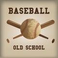 Béisbol Imagen de archivo libre de regalías