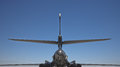 B-1B Bomber, Rear View Royalty Free Stock Photos