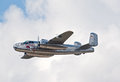 B-25 Mitchell bomber Royalty Free Stock Image