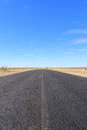 B1 road in Namibia heading toward Sesriem and Sossusvleiv Royalty Free Stock Photo