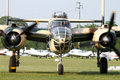 B25 Mitchell- at La Comina 100 anniversary Stock Photo