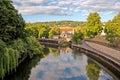 Baño inglaterra río de avon Imágenes de archivo libres de regalías
