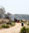 勒斯坦列冲突西部的抗议