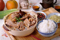 Ba kut teh Royalty Free Stock Photo