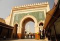 Bab Bou Jeloud gate Royalty Free Stock Images