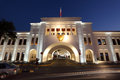 Bab el bahrain souk gate manama bahrain Photo libre de droits