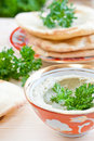 Baba ganoush Royalty Free Stock Image