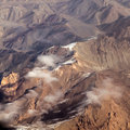 The baba mountain range of hindu kush between kabul and kandahar in afghanistan Royalty Free Stock Images