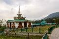 Baba Reshi temple, Gulmarg, Jammu and Kashmir Royalty Free Stock Photo