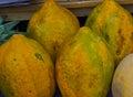 Babaco Fruit Royalty Free Stock Photo