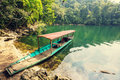 Babe lake serenity in vietnam Royalty Free Stock Photography