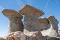 Babele in bucegi mountains stone group named carpati romania Royalty Free Stock Photography