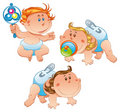 Babies Royalty Free Stock Image