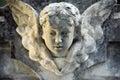 Baby Angel portrait Royalty Free Stock Image