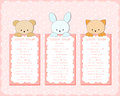 Baby Animal Banners Collection.