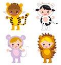Dieťa zvieratá