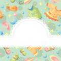 Baby background illustration Stock Photo