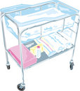 Baby Bassinet Royalty Free Stock Photos