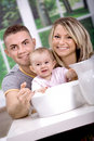 Baby bath Stock Photos