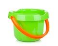 Baby beach sand bucket Royalty Free Stock Photo