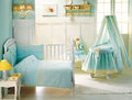 Baby bedroom. Royalty Free Stock Photo