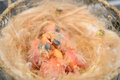 Baby birds breeding in the nest canaries newly born Stock Photos