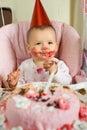 Baby  birthday Royalty Free Stock Photo
