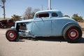 Baby Blue Hot Rod In Oklahoma