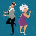 Baby boomers dancing
