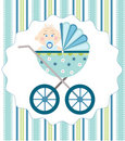 Baby boy arrival Royalty Free Stock Photos