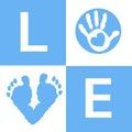 Baby Boy Baby Hand And Feet Pr...