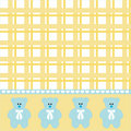 Baby boy bear background