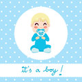 Baby Boy Design Stock Images