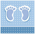 Baby Boy Feet Stock Images