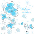 Baby boy shower Royalty Free Stock Photography