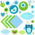 Baby boy shower Royalty Free Stock Photos