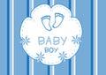 Baby boy shower card,baby shower card
