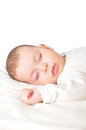 Baby boy sleeping Stock Photo