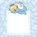 Baby boy sleeping Royalty Free Stock Photo