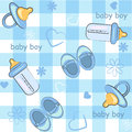 Baby boy wrapping and background. icon seamless t