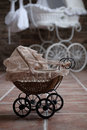 Baby buggy Stock Image