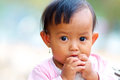Baby in Cambodia Stock Photography