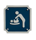 Baby change sign Stock Images